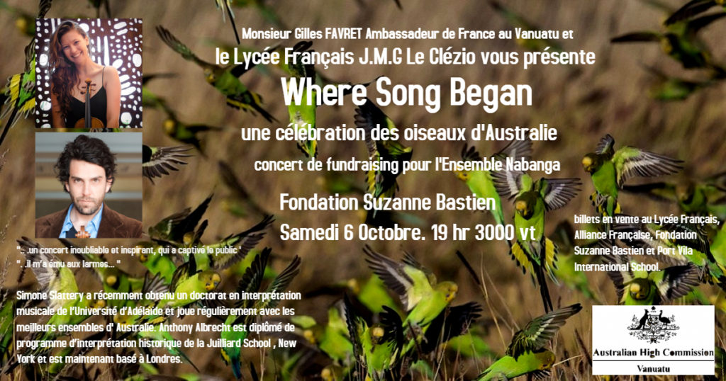 Concert de soutien à l'ensemble musical NABANGA @ Fondation Suzanne Bastien