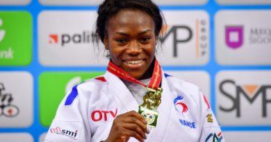 Venue de Clarisse AGBEGNENOU, judokate française, médaillée mondialement à quatre reprises