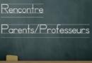 Réunion parents – professeurs collège et lycée