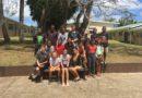 La classe de 4ème2, vainqueurs du concours sur » la lutte contre les violences basées sur le genre», du Ministère de l'Éducation et de la Formation du Vanuatu