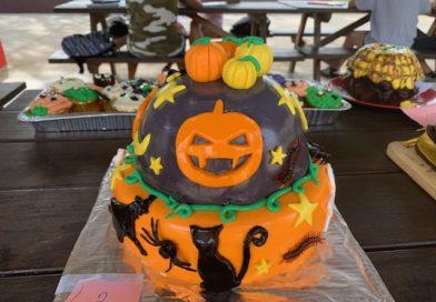 Concours de pâtisseries d'Halloween
